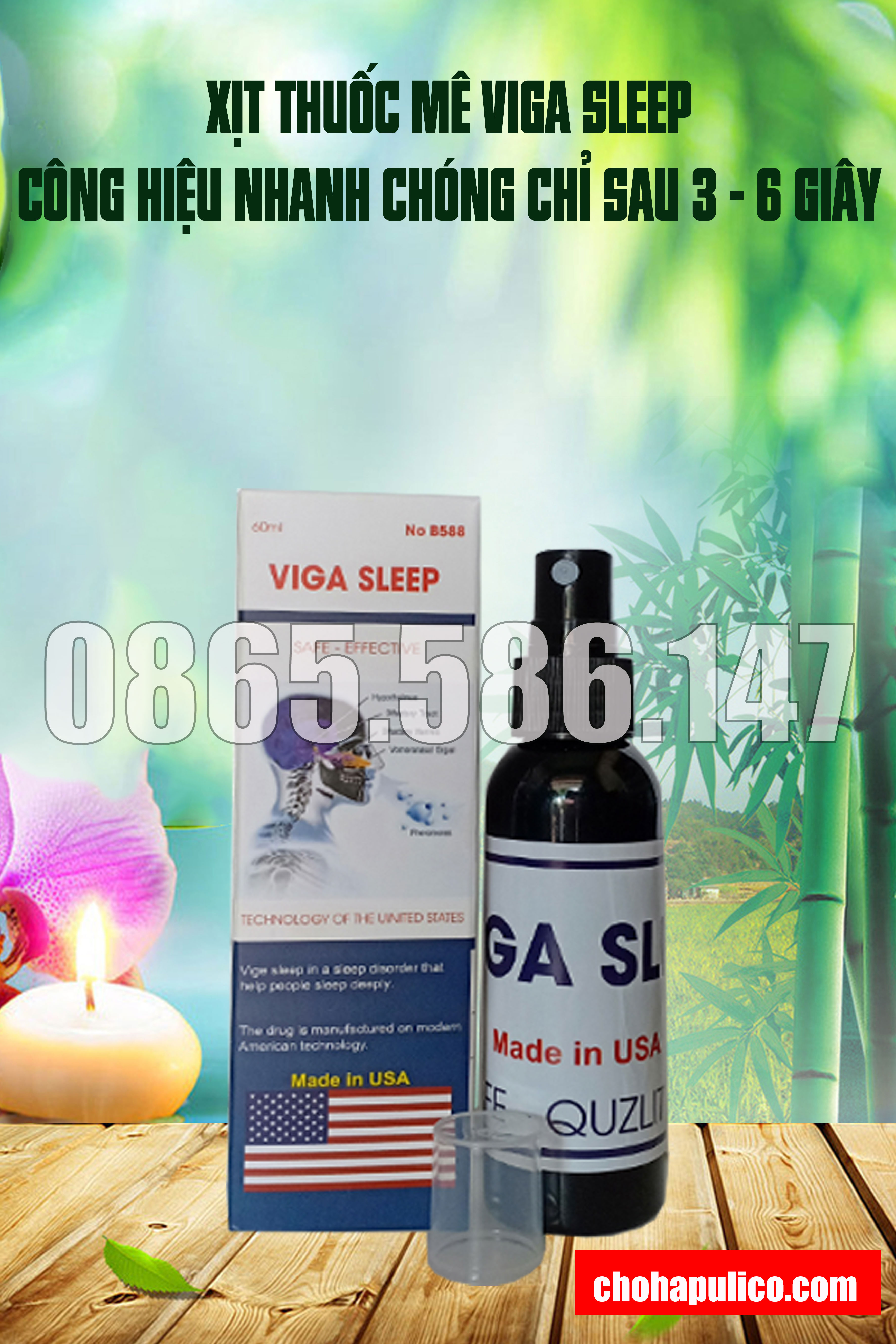 Hướng dẫn sử dụng thuốc ngủ mạnh nhất Viga Sleep